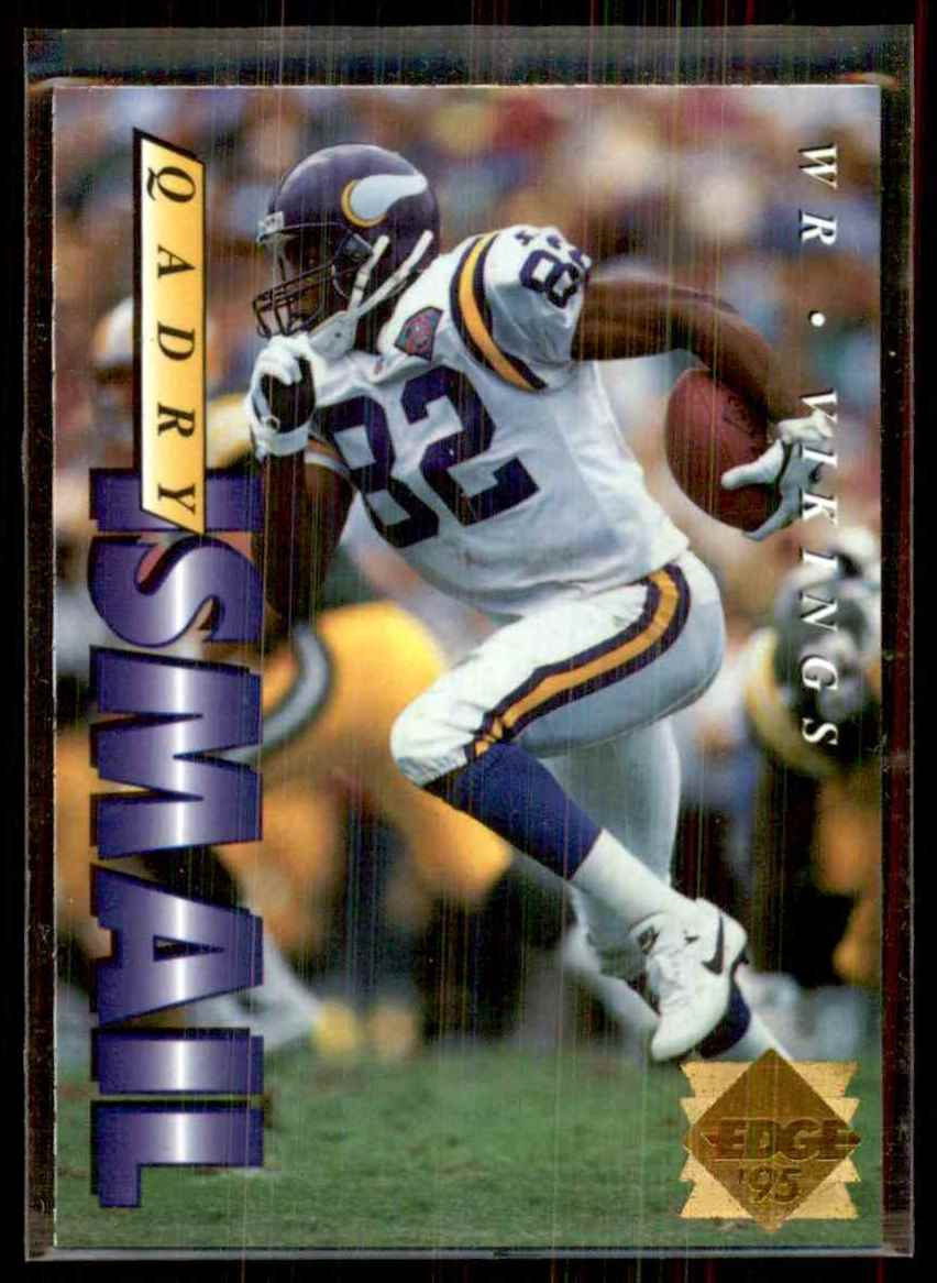 1995 Collector's Edge Gold Logo Qadry Ismail #123 card front image
