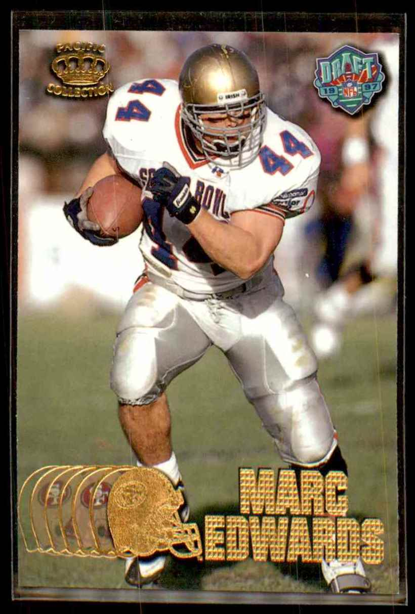 1997 Pacific Marc Edwards #432 card front image