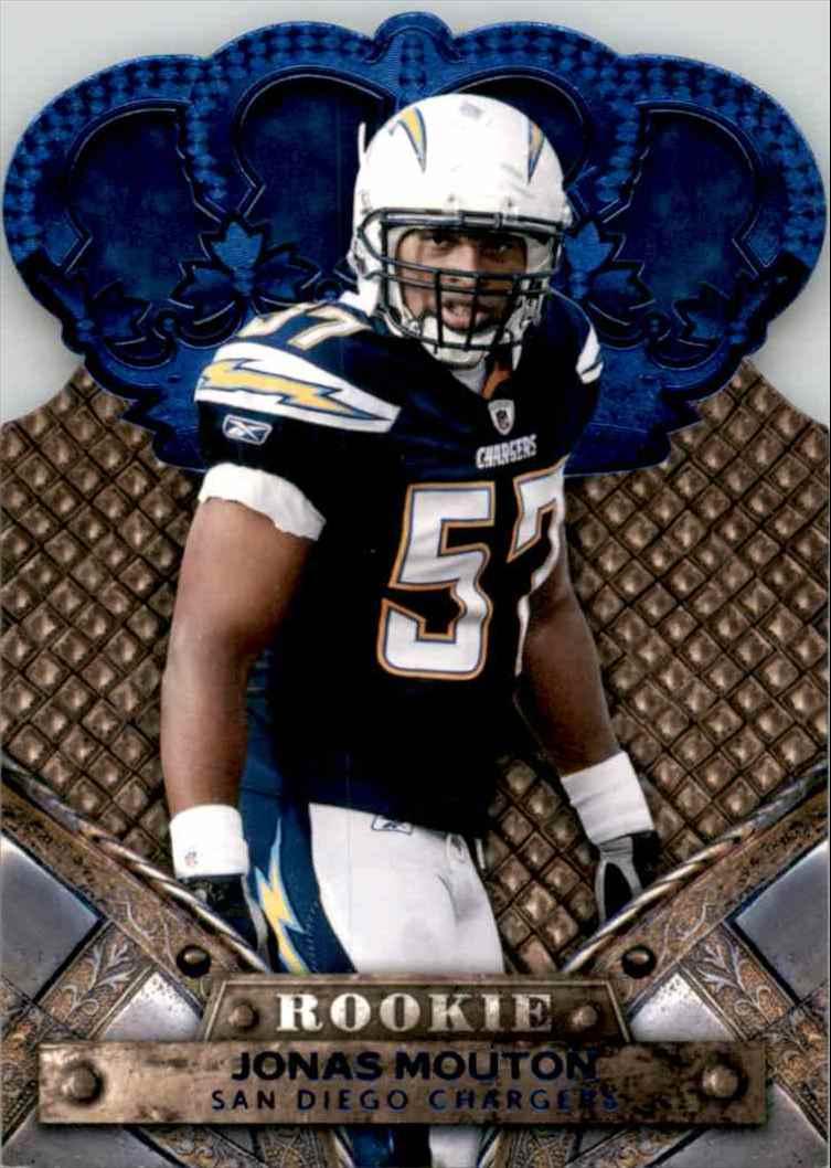 2011 Crown Royale Blue Jonas Mouton #147 card front image