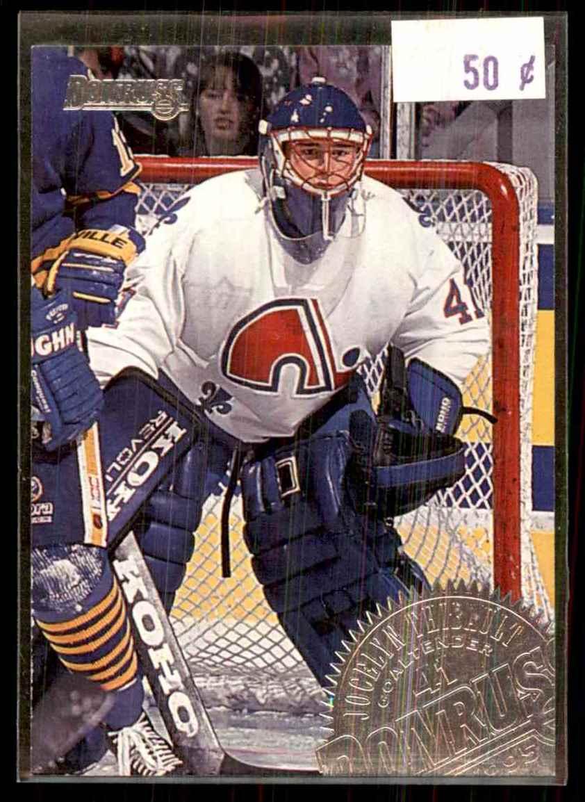 1994-95 Donruss Jocelyn Thibault #71 card front image
