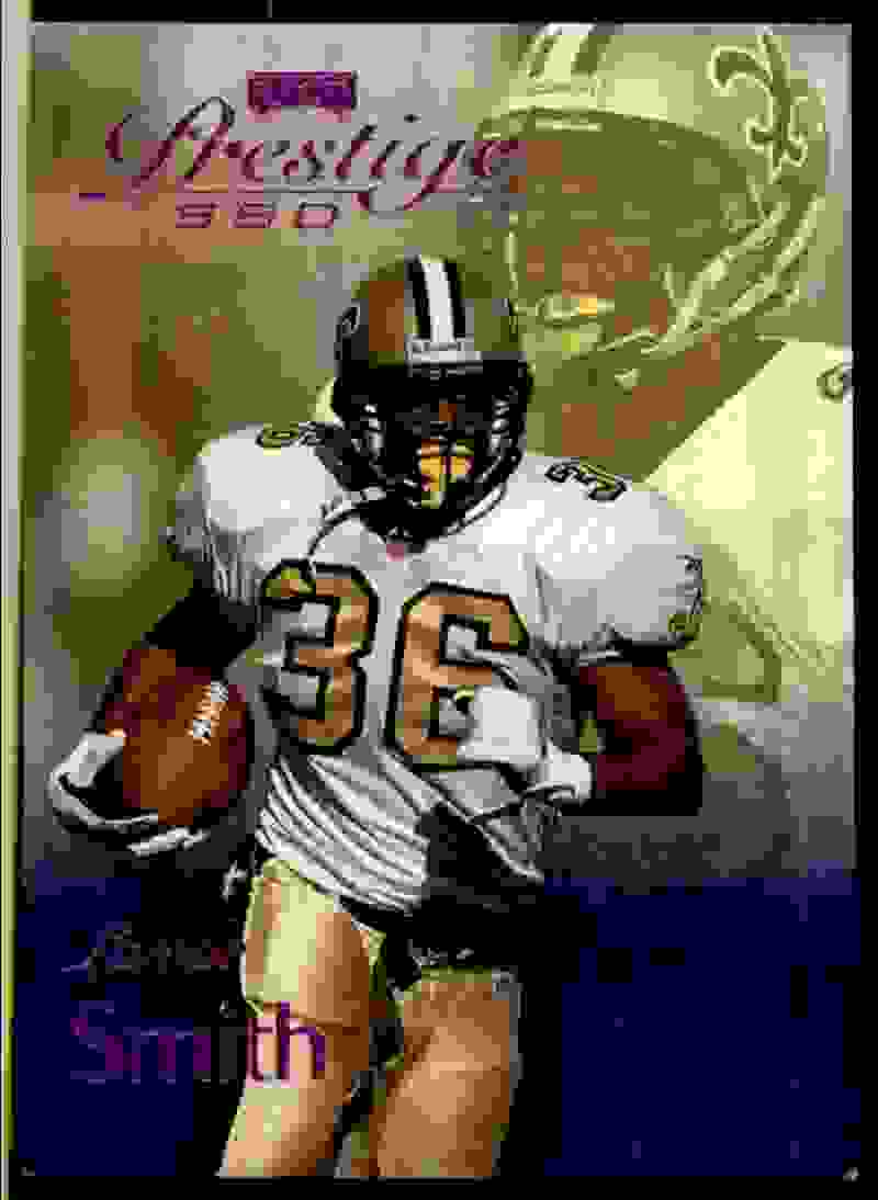 1999 Playoff Prestige Ssd Spectrum Purple Lamar Smith #84 card front image