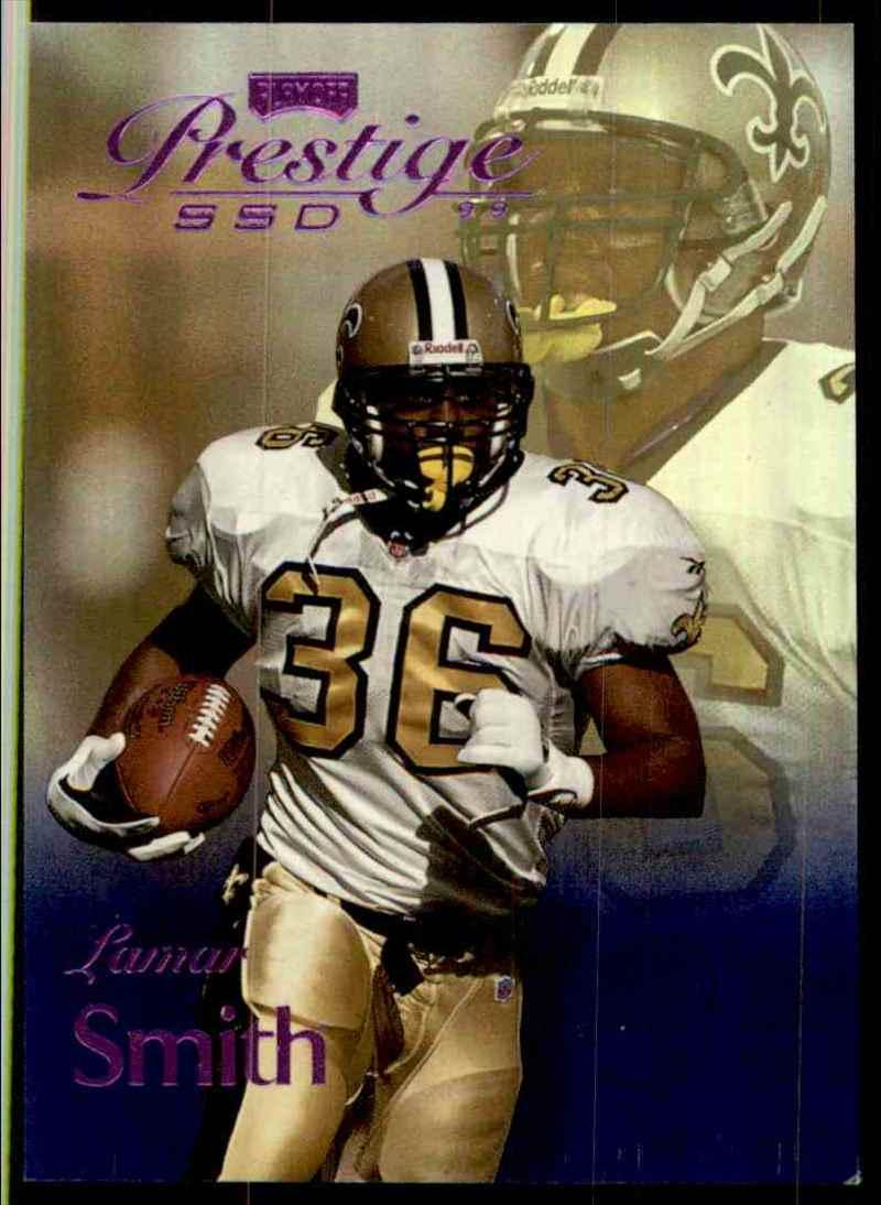 1999 Playoff Prestige Ssd Spectrum Purple Lamar Smith #84 card front image