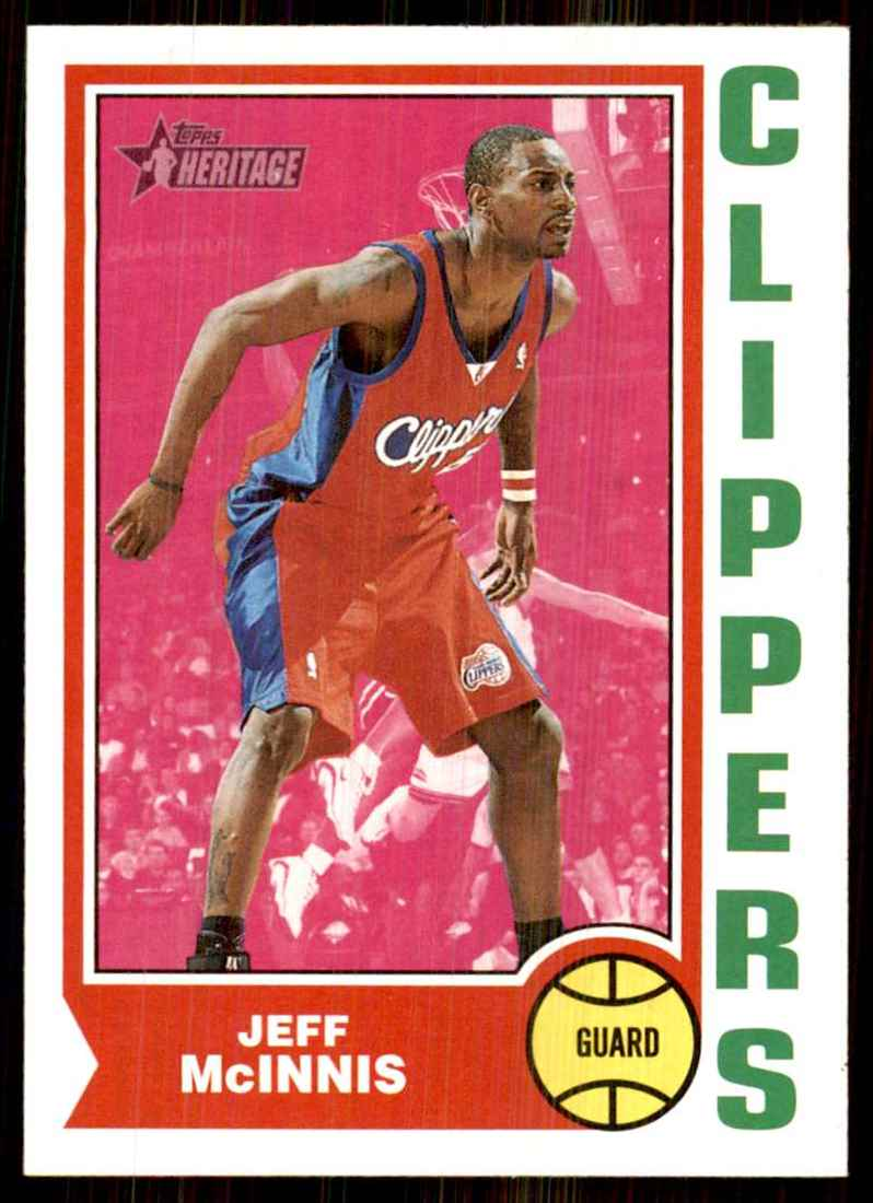 2001-02 Topps Heritage Jeff Mcinnis #133 card front image