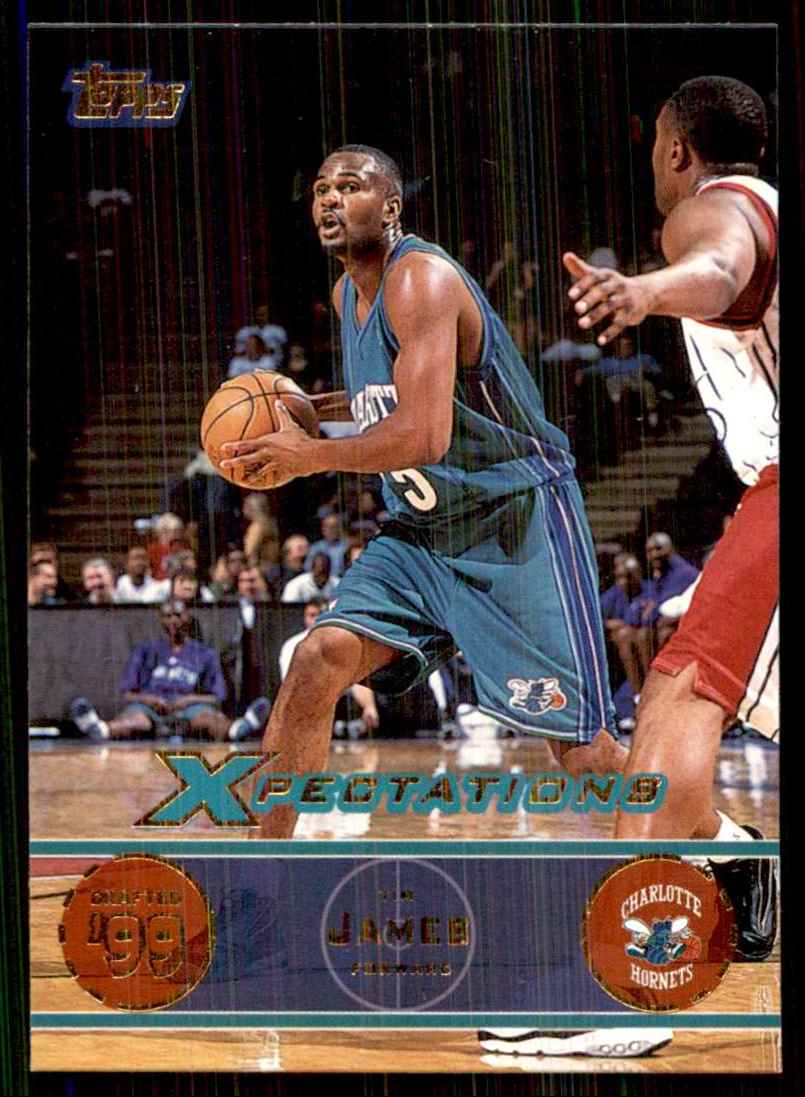2001-02 Topps Xpectations Tim James #57 card front image