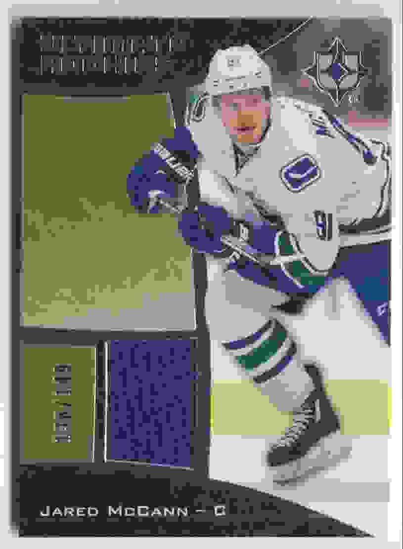 2015-16 Upper Deck Ultimate Collection Silver Jared McCann #112 card front image