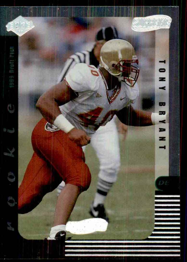 1999 Collector's Edge Supreme Galvanized Tony Bryant #140 card front image