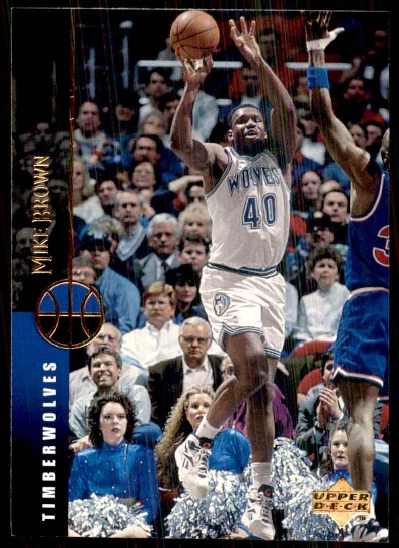 1994-95 Upper Deck Mike Brown #150 card front image
