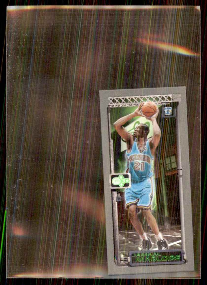 2003-04 Topps Rookie Matrix Minis Jamaal Magloire #28 card front image