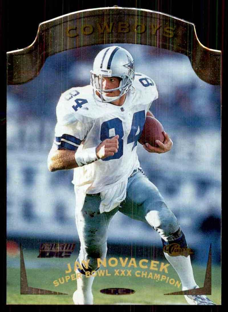 1996 Pro Line Dc3 Jay Novacek #84 card front image