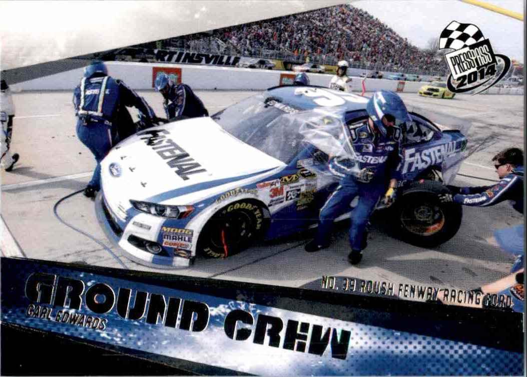2014 Press Pass Carl Edwards' Car Gc #70 card front image