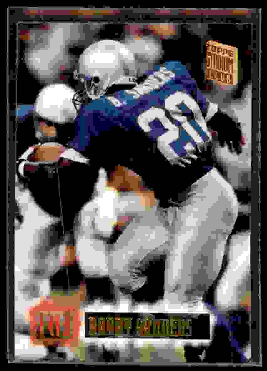 1994 Stadium Club Barry Sanders #580 card front image