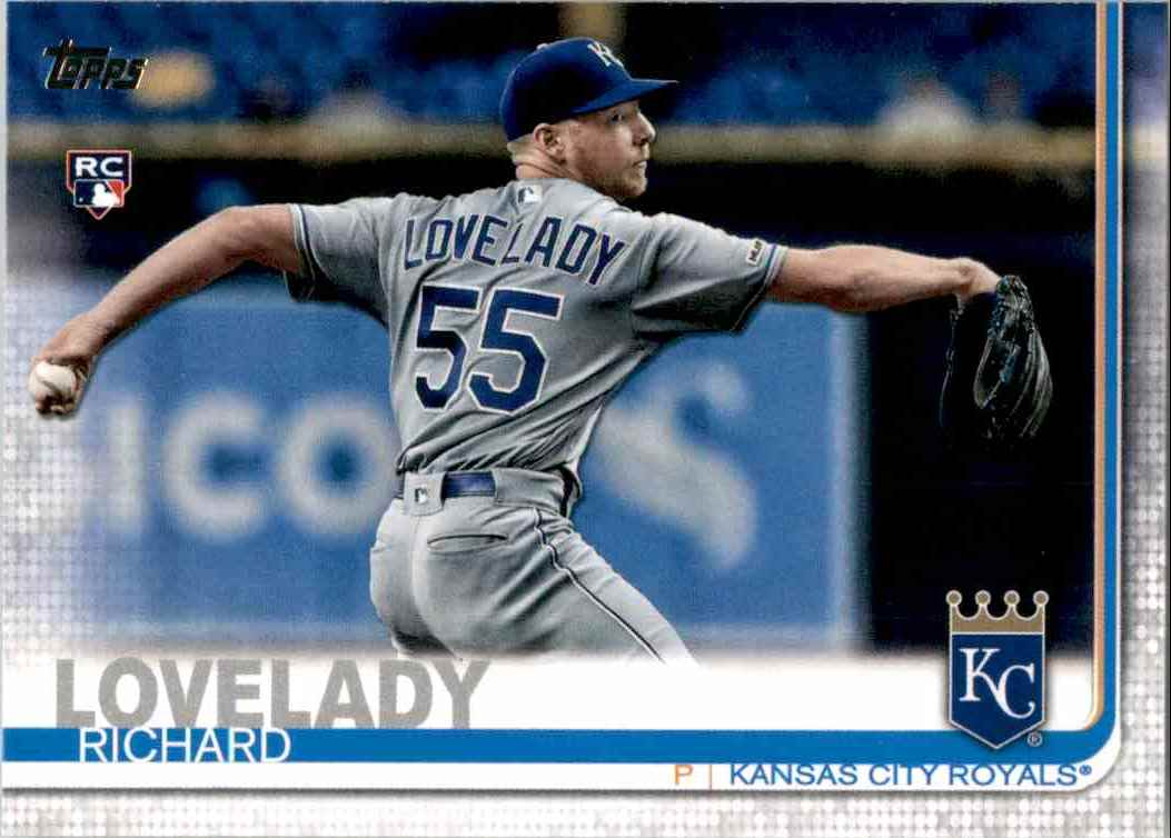 2019 Topps Update Richard Lovelady RC #US213 card front image