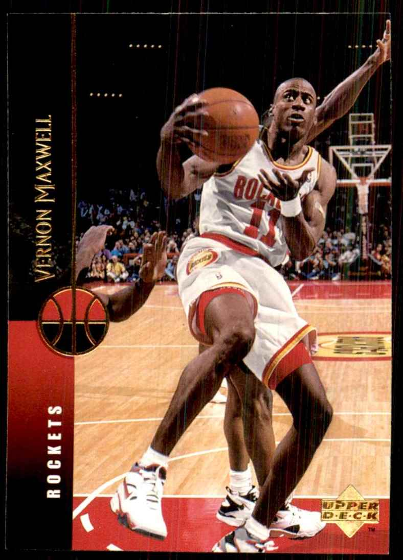 1994-95 Upper Deck Vernon Maxwell #27 card front image