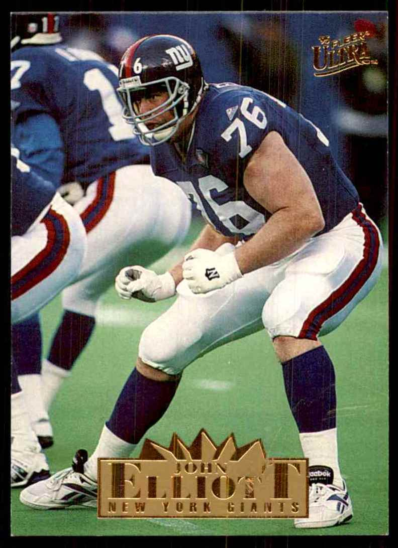1995 Ultra John Elliott #225 card front image