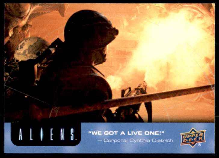 2018 Aliens Chestburster #49 card front image