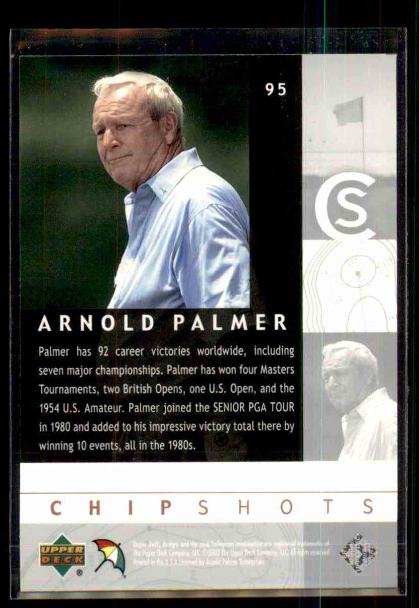 2002 Upper Deck Silver Arnold Palmer Cs #95 card back image