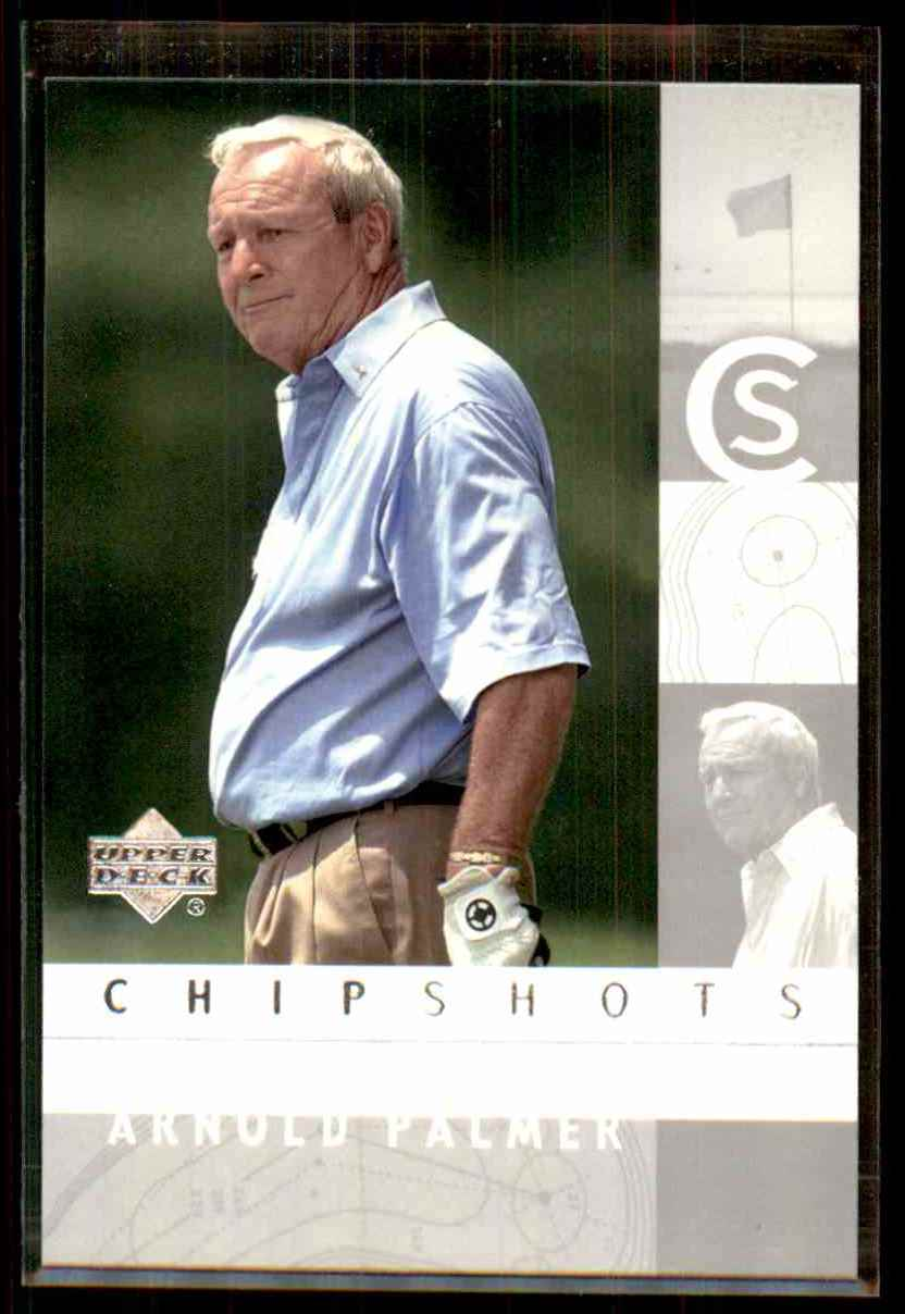2002 Upper Deck Silver Arnold Palmer Cs #95 card front image