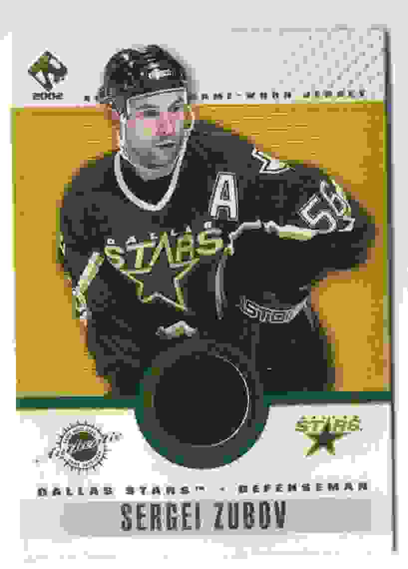 2001-02 Pacific Private Stock Game Gear Sergei Zubov #41 card front image
