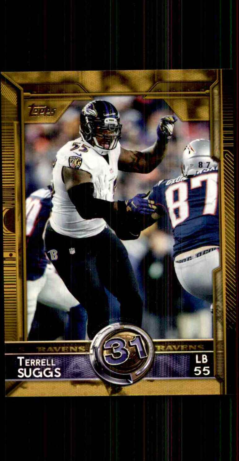 2015 Topps Terrell Suggs T60 #341 card front image