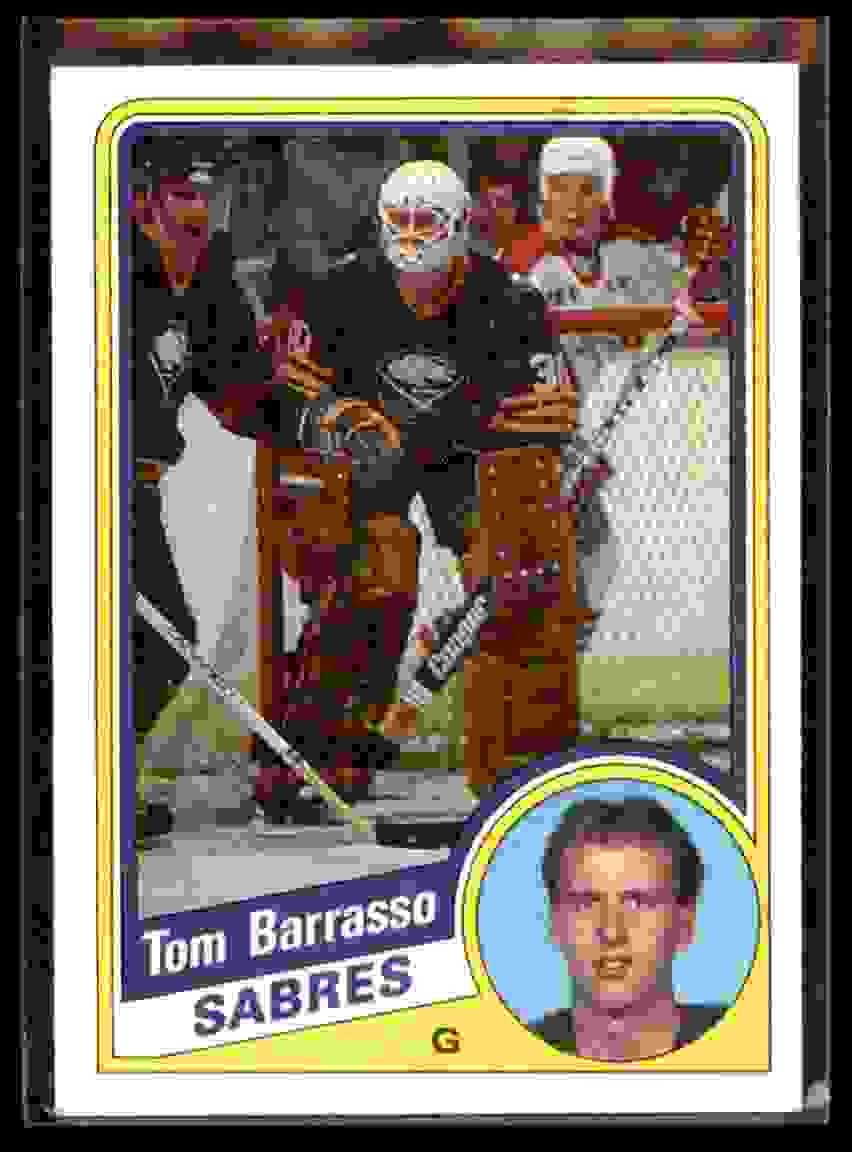 1984-85 Topps Tom Barrasso #14 card front image