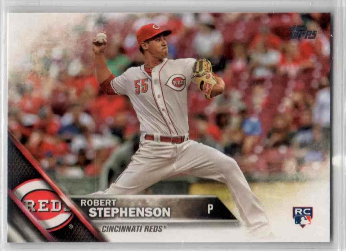 2016 Topps Update Robert Stephenson #US216 card front image