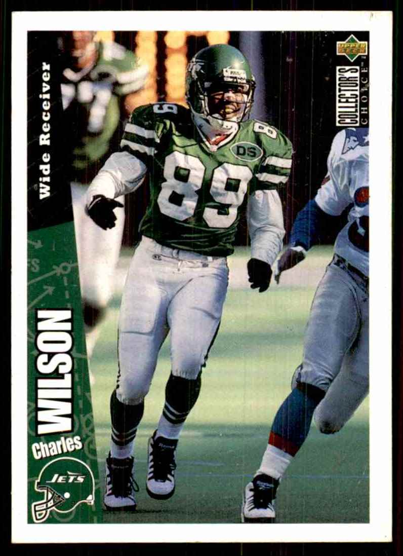 1996 Collector's Choice Charles Wilson #334 card front image