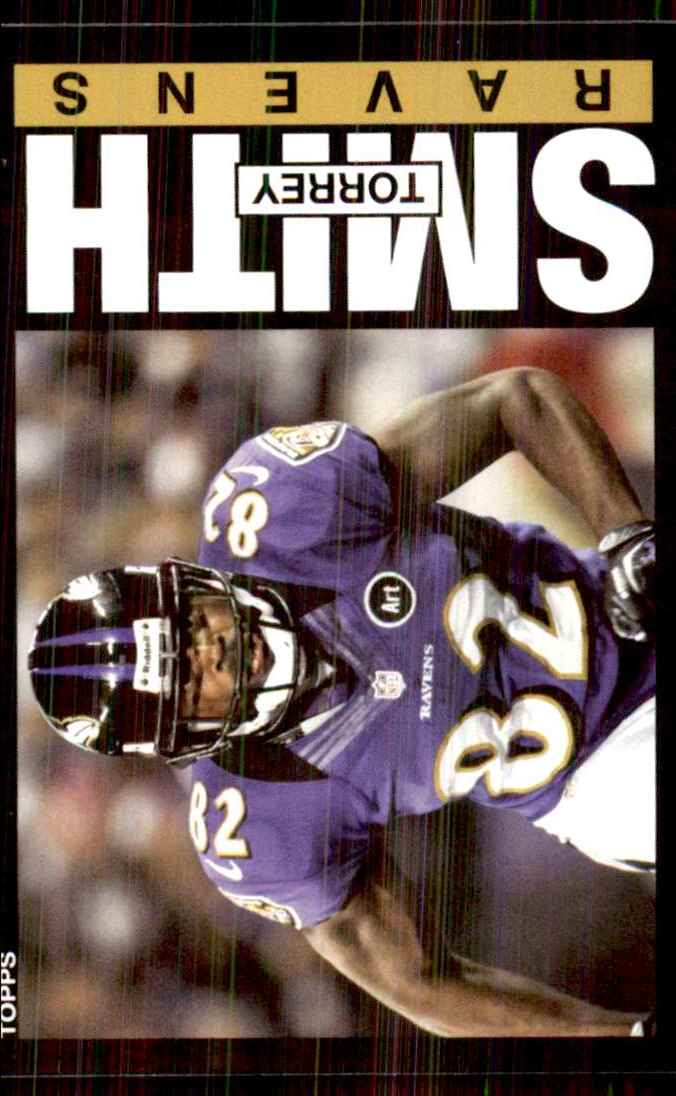 2013 Topps Archives Torrey Smith #77 card front image