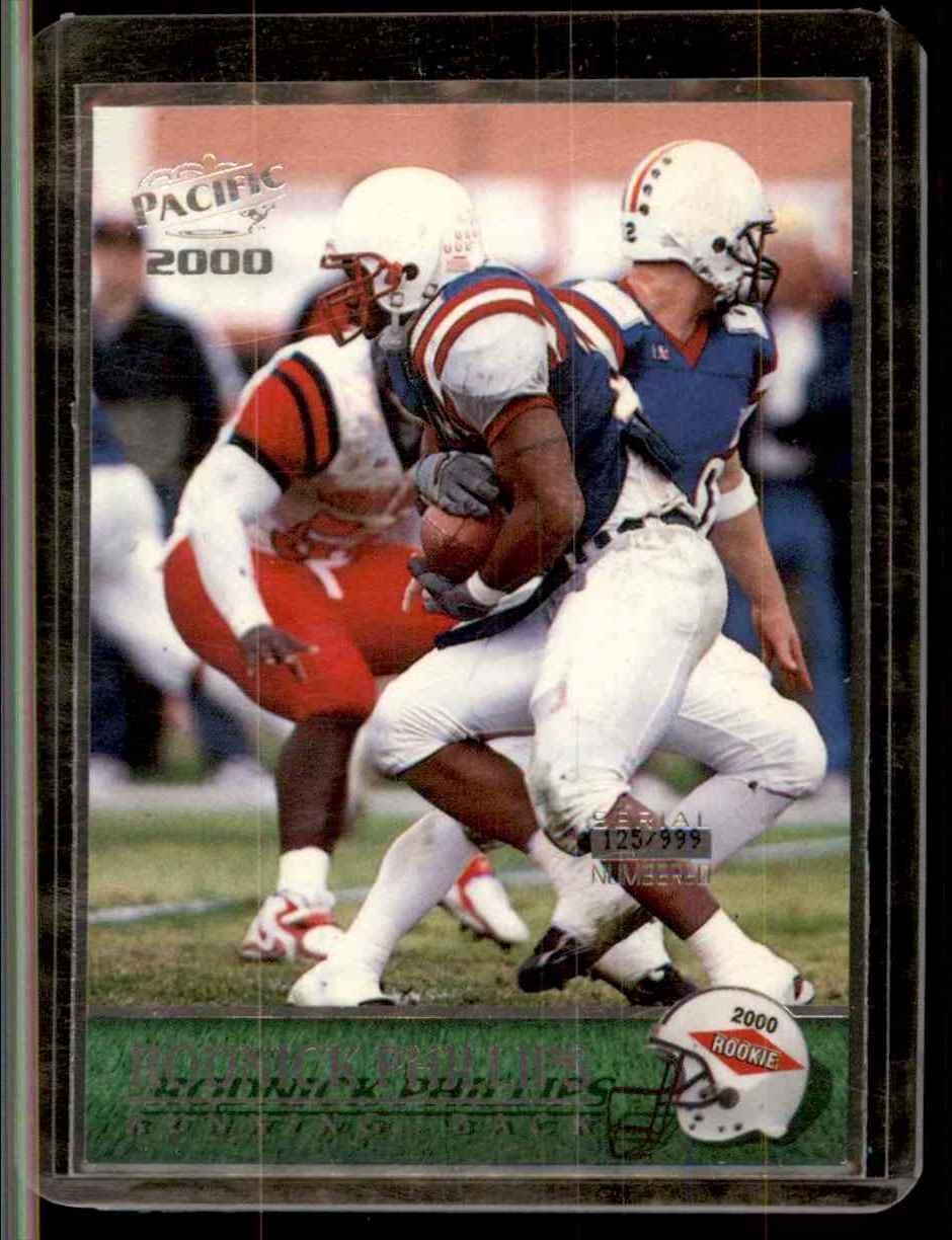 2000 Pacific Draft Picks Rodnick Phillips #433 card front image