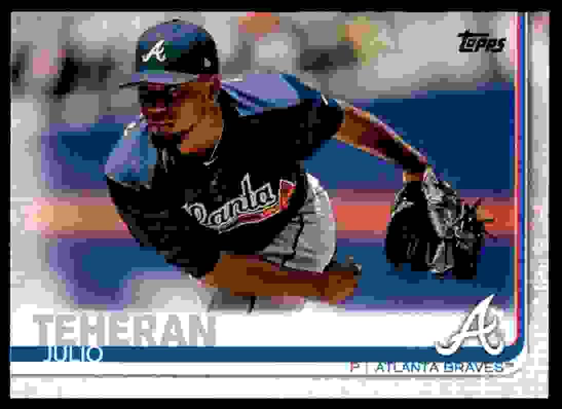 2019 Topps Julio Teheran #118 card front image
