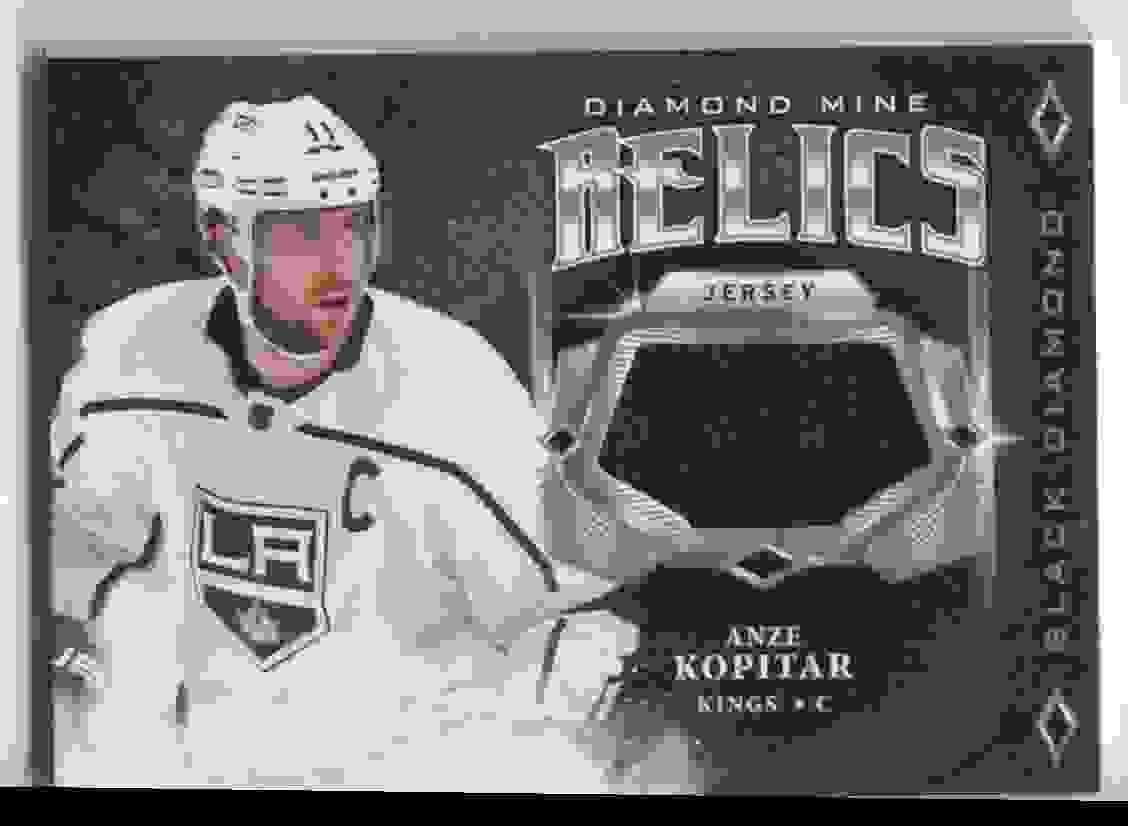 2018-19 Upper Deck Black Diamond Anze Kopitar #DM-AK card front image