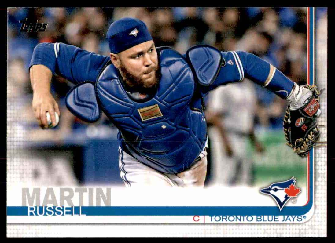 2019 Topps Russell Martin #348 card front image