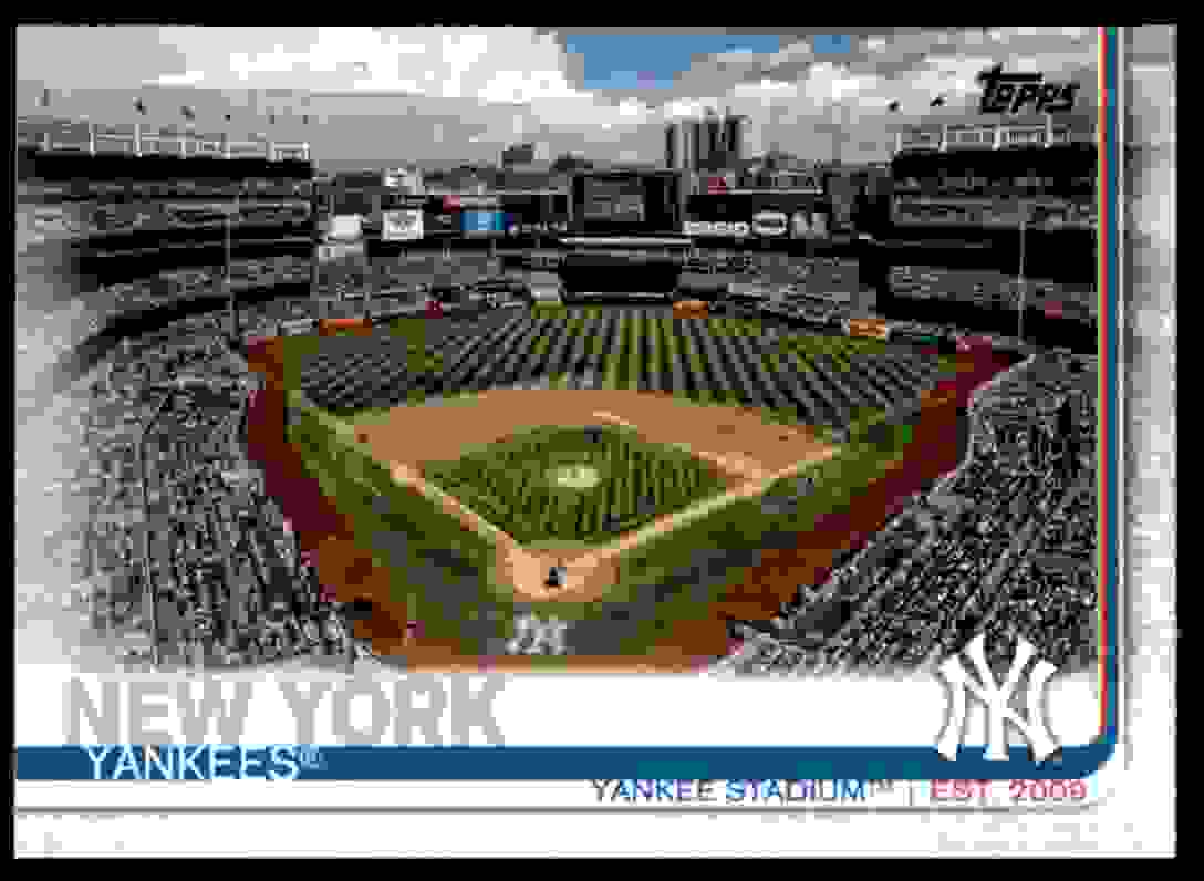 2019 Topps Yankee Stadium #47 card front image