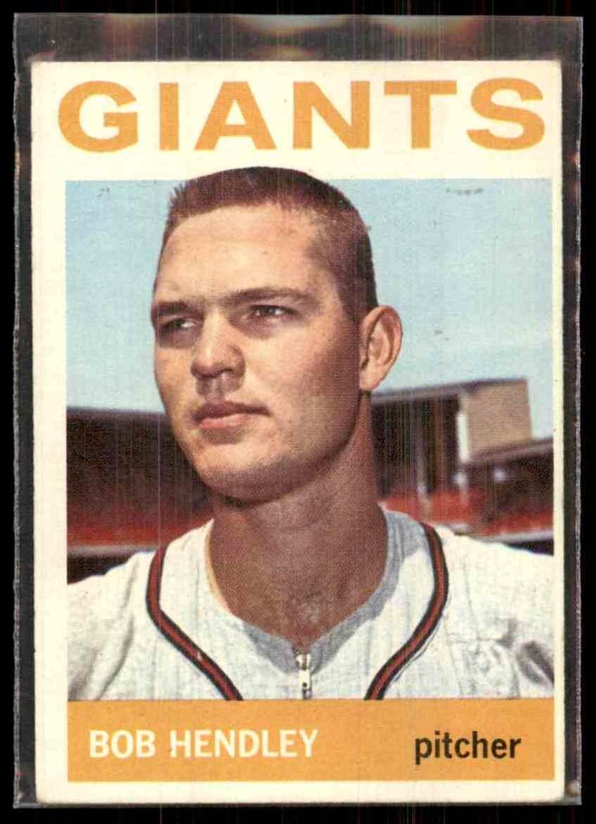1964 Topps Bob Hendley #189 card front image