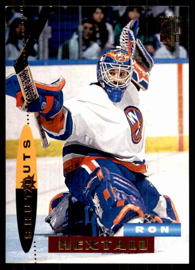 1994-95 Stadium Club Ron Hextall So #182 card front image