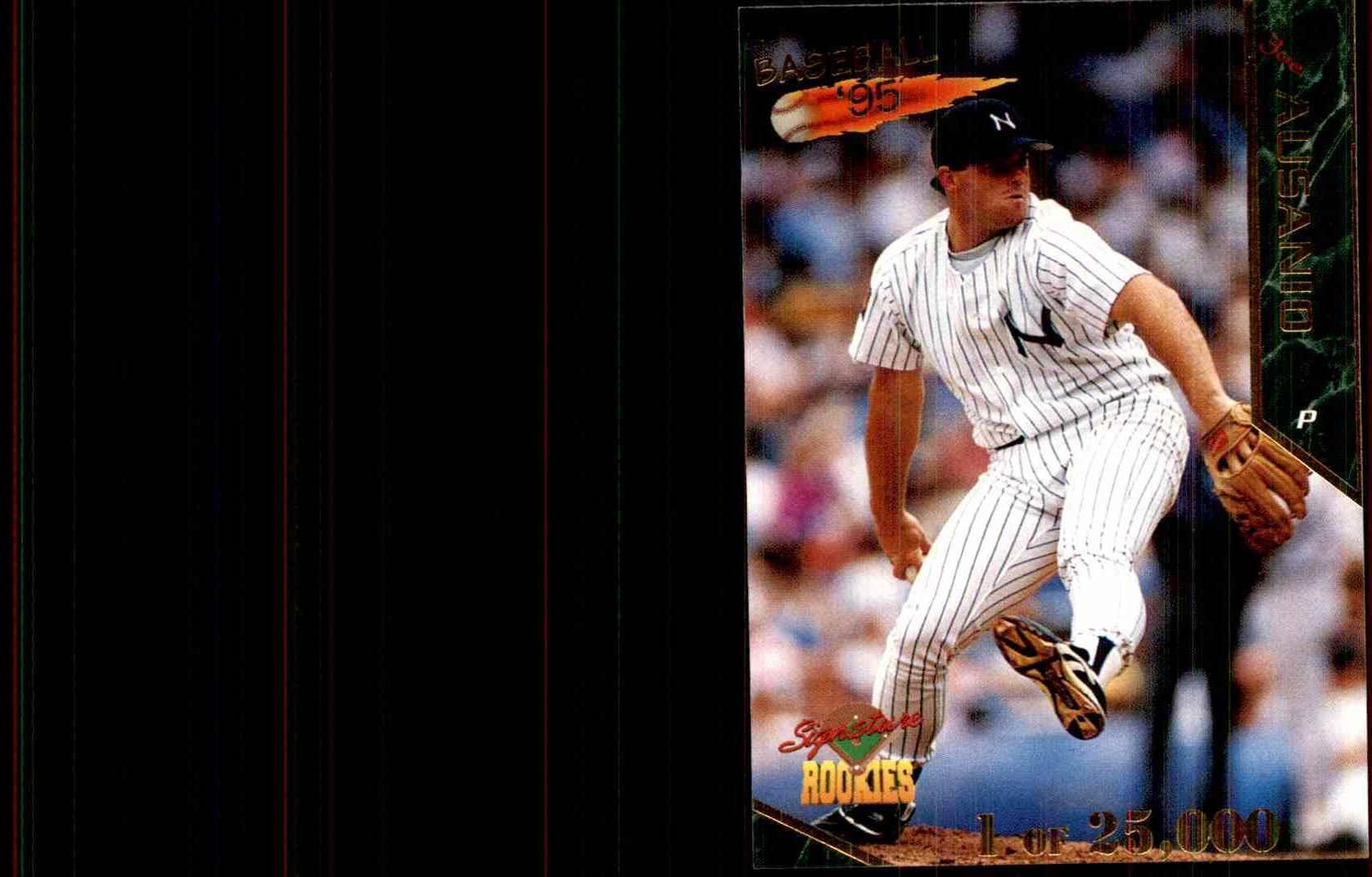 1995 Signature Rookies Joe Ausanio #5 card front image