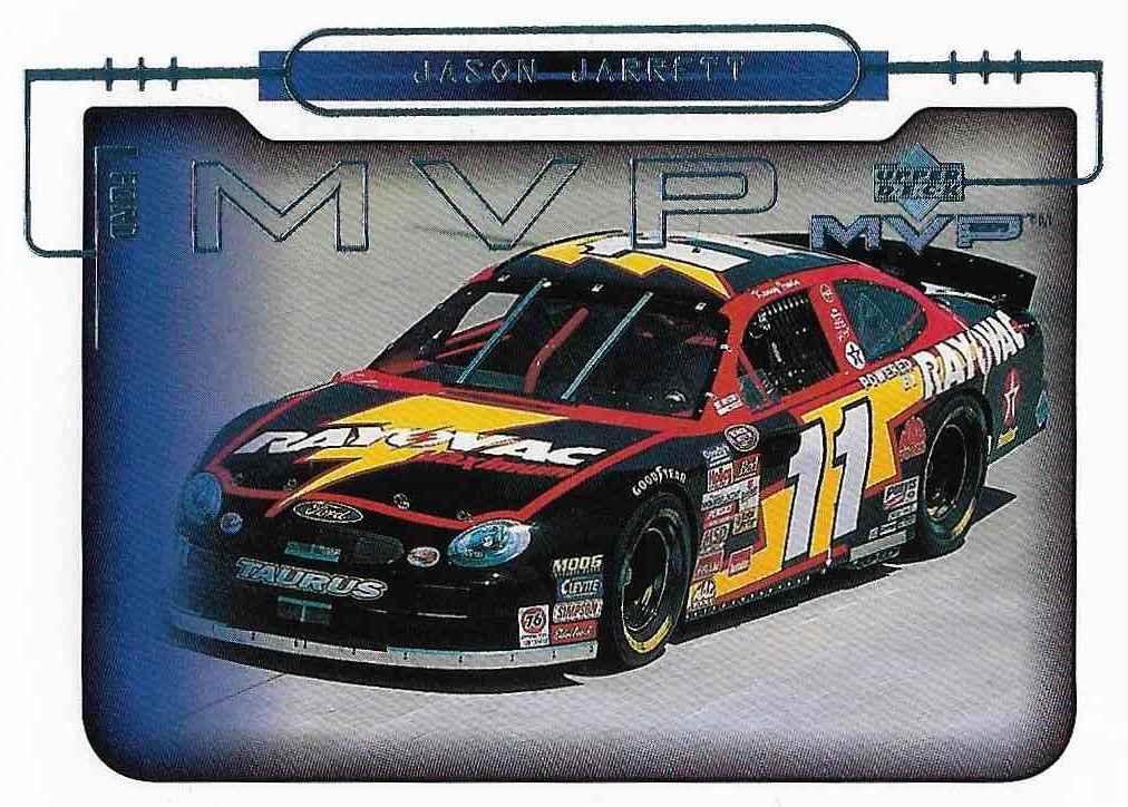 2000 Upper Deck MVP Jason Jarrett #60 card front image