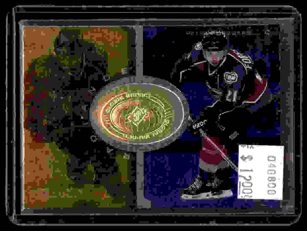 1998-99 SPx Finite Radiance Peter Forsberg #95 card front image