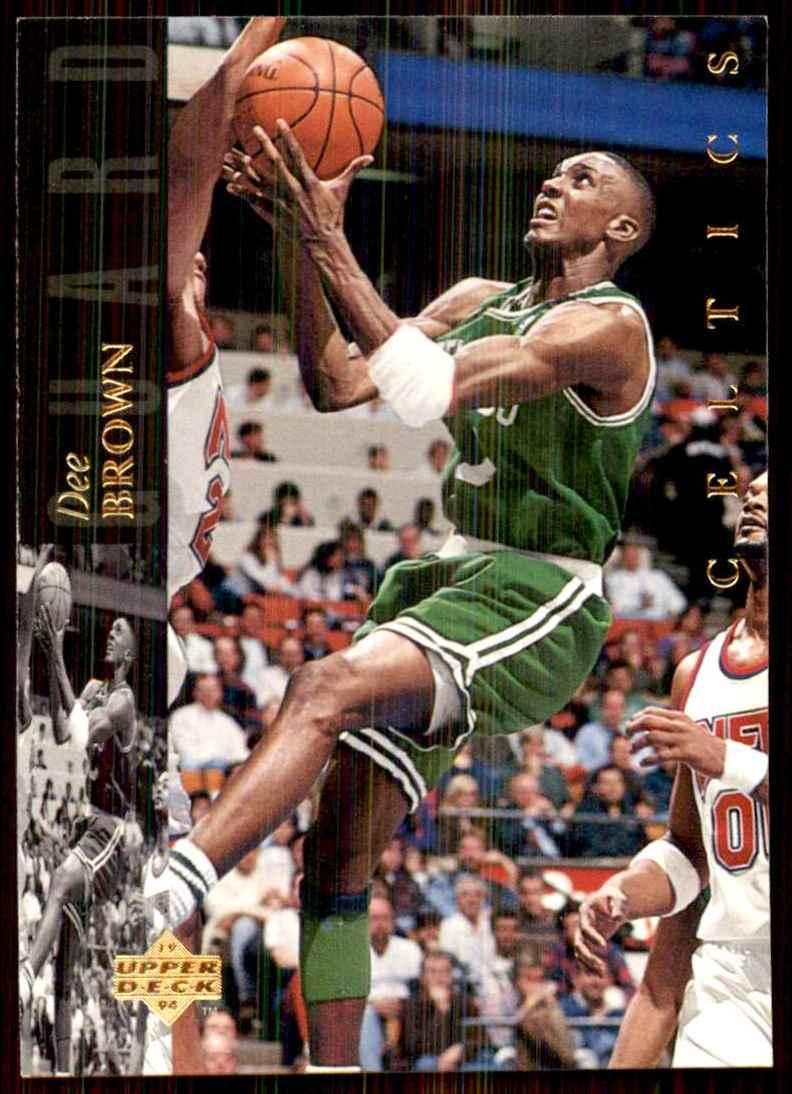1993-94 Upper Deck Se Dee Brown #171 card front image