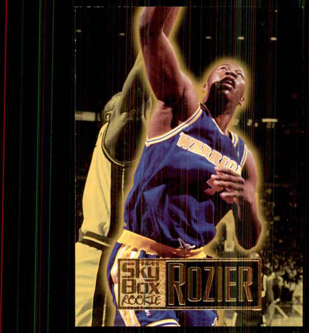 1994-95 Skybox Premium Clifford Rozier RC #232 card front image