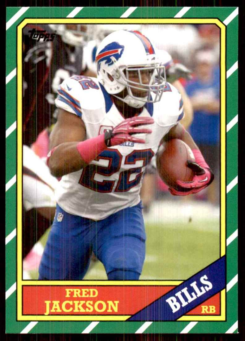 2013 Topps Archives Fred Jackson #116 card front image