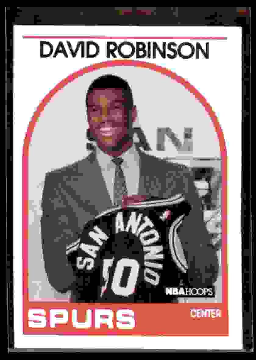 1989-90 Hoops David Robinson #138 card front image