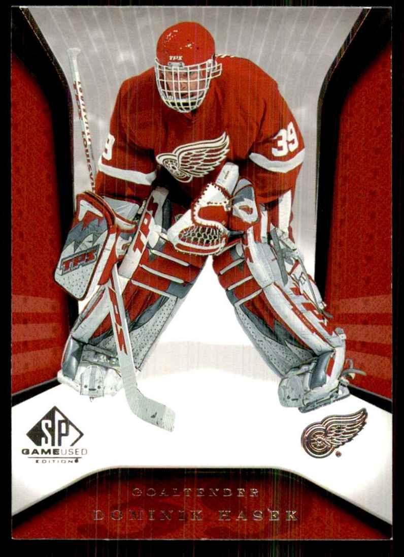 2006-07 SP Game Used Dominik Hasek #37 card front image