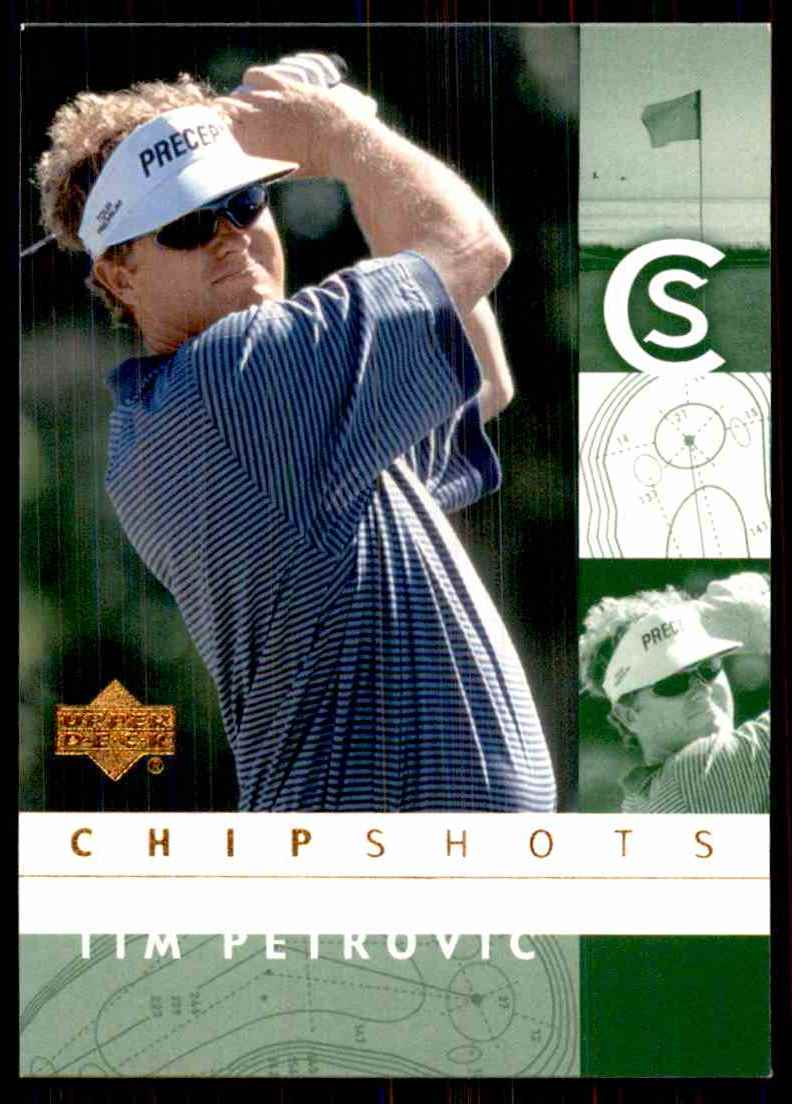 2002 Upper Deck Tim Petrovic Cs RC #88 card front image
