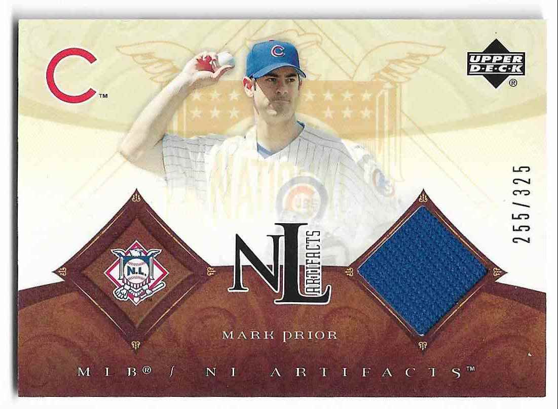 2006 Upper Deck Artifacts Mark Prior #NL-MP card front image