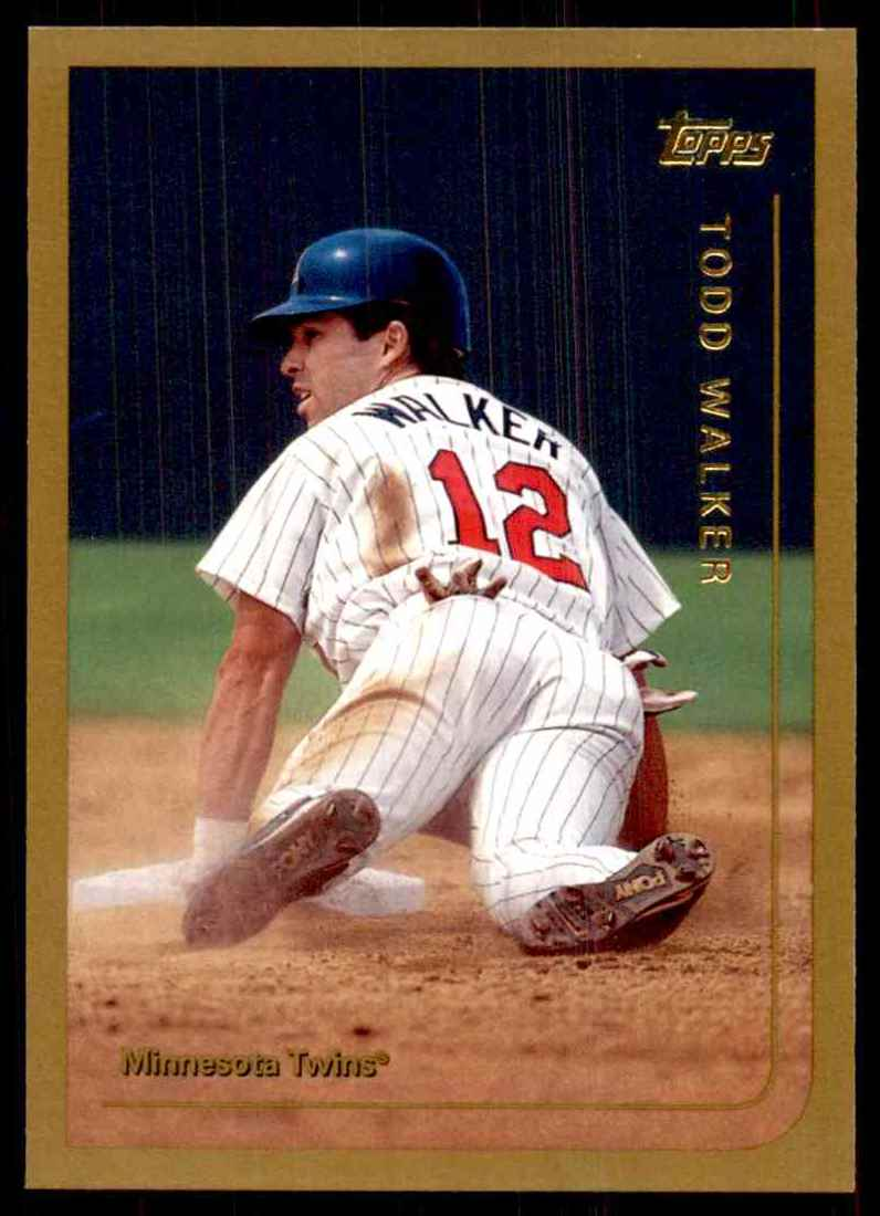 1999 Topps Todd Walker #30 card front image