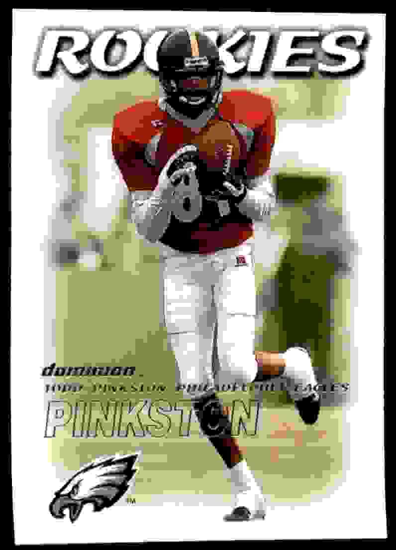 2000 Dominion Todd Pinkston #202 card front image