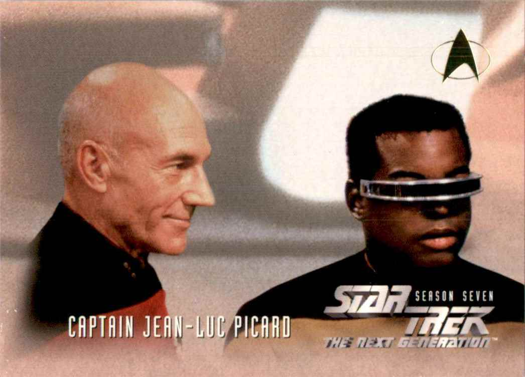 1994 Star Trek The Next Generation Episode Collection Lieutenant Geordi LaForge #728 card front image