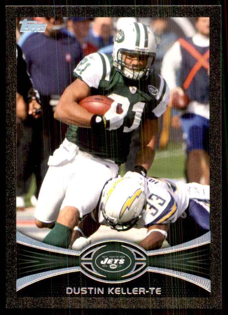 2012 Topps Black Dustin Keller #261 card front image