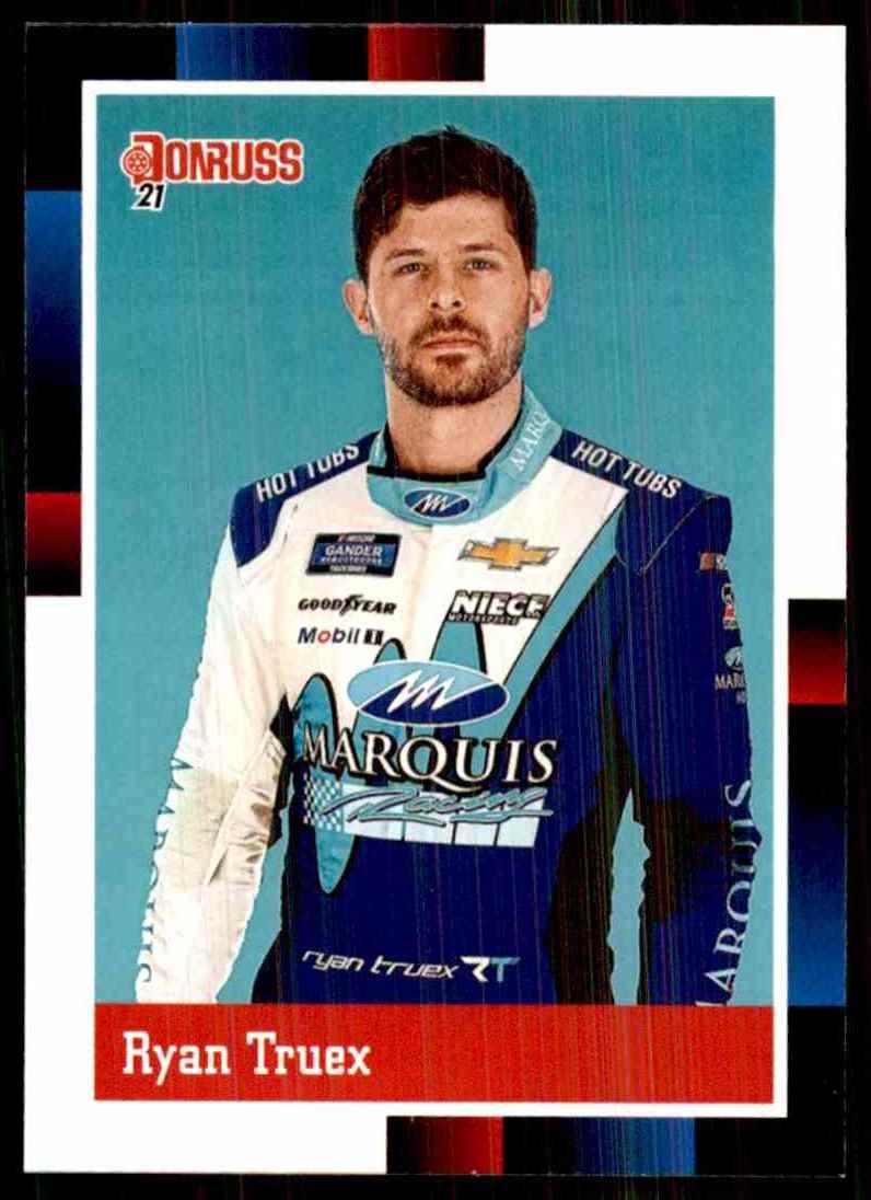 2021 Donruss Ryan Truex Retro #133 card front image