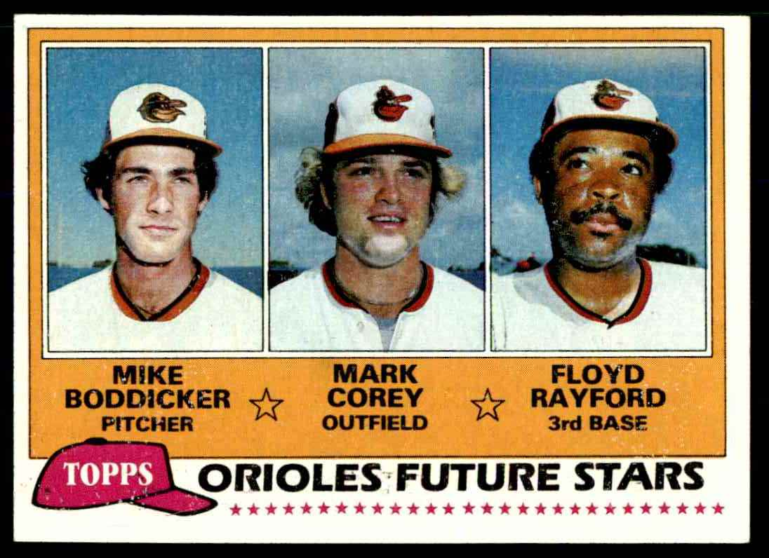 1981 Topps Mark Corey #399 card front image